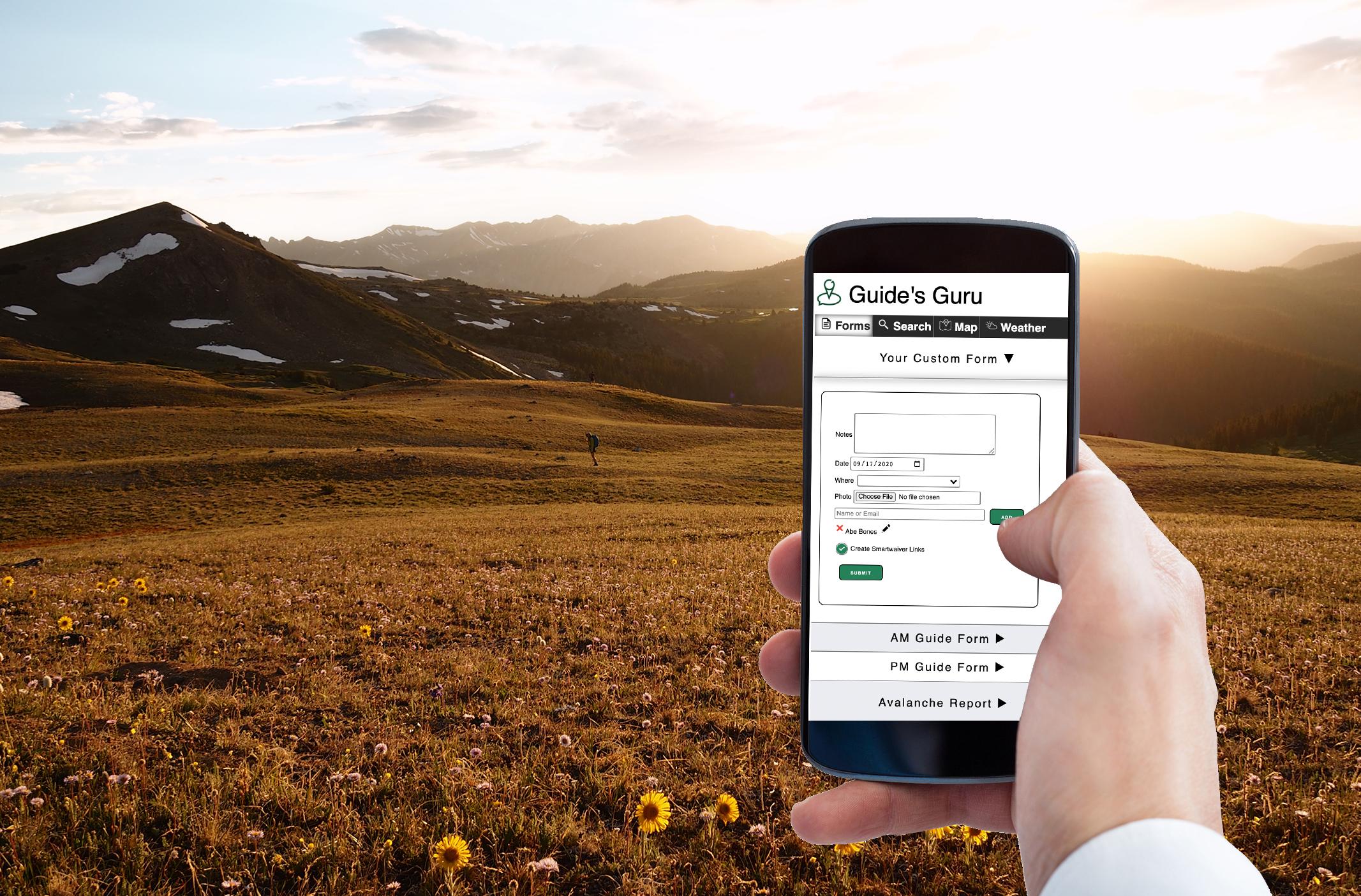 guides guru, software for outdoor guiding companies, digital services for outdoor guiding companies